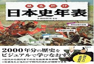 「見るだけ日本史年表」3/19発売